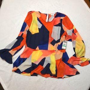 Ladies multi-colored top